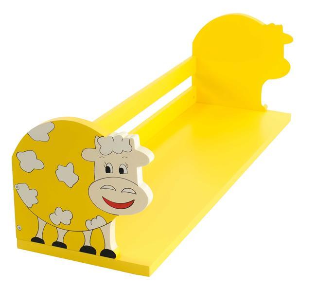 מדף צהוב פרה - קוקולה