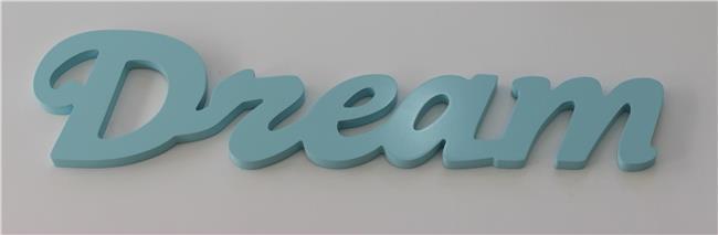 מילה מעוצבת DREAM תכלת - קוקולה