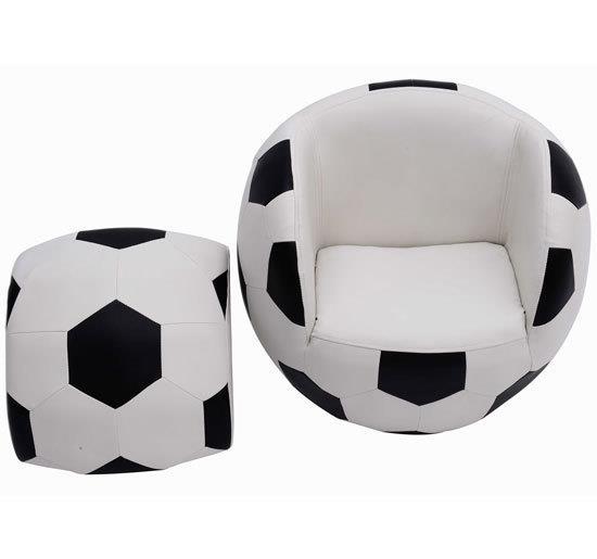 ספה בצורת כדורגל - קוקולה