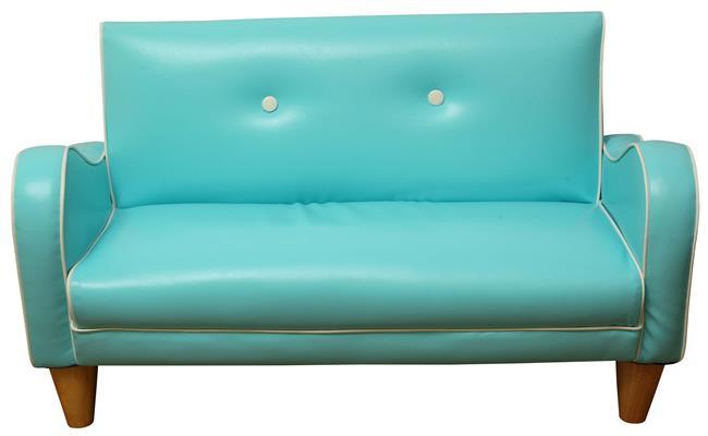 ספה זוגית רטרו - קוקולה