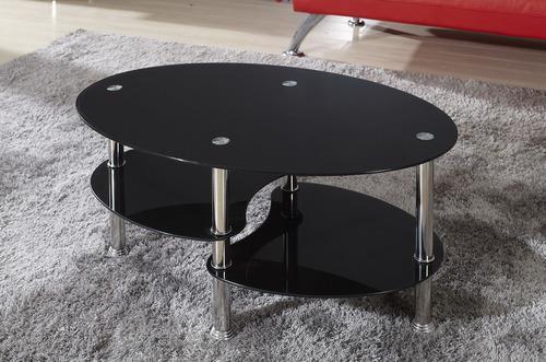 שולחן סלון זכוכית דגם DARK - Garox