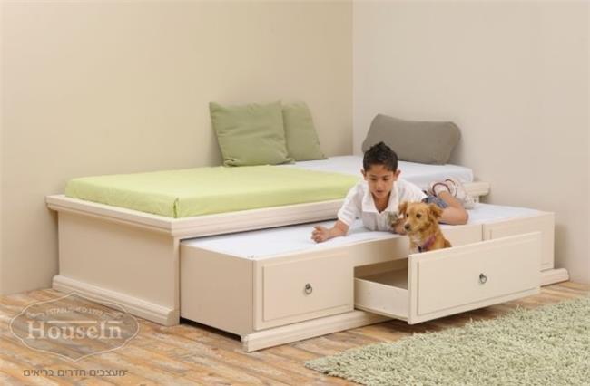 מיטת ילדים דגם במה - HouseIn