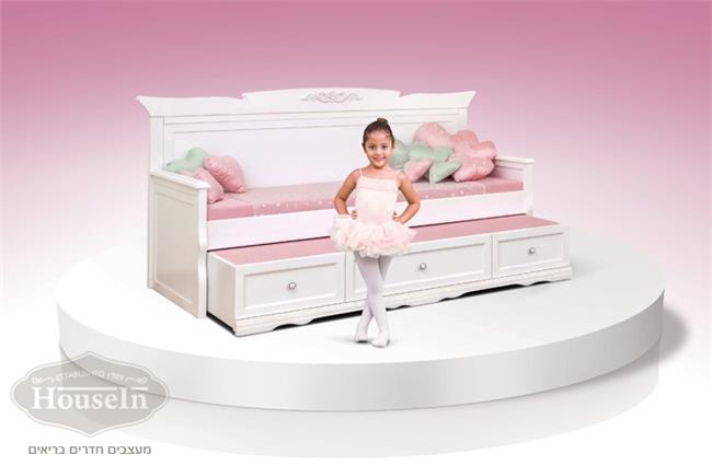 מיטת ילדים ונוער וינטאג' - HouseIn
