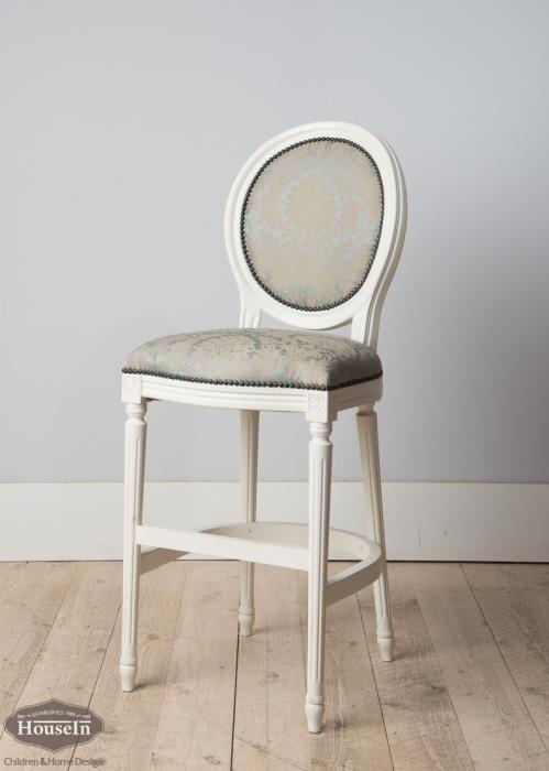 כסא בר מרופד - HouseIn