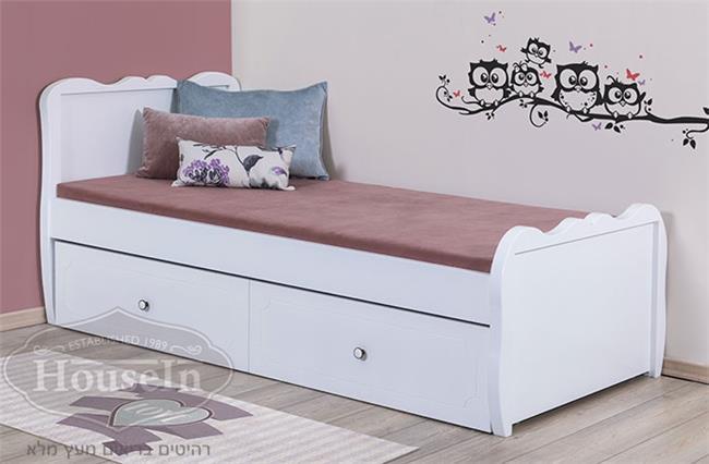 מיטת ילדים קפיטונאז' דגם עדי - HouseIn