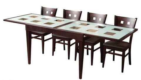פינת אוכל + 6 כסאות קליו - Best Bait Design