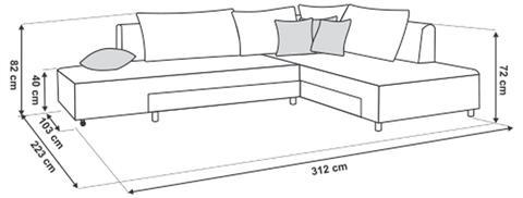 סלון פינתי Splen - Best Bait Design