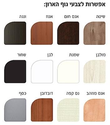 ארון בגדים 4 דלתות אור - Best Bait Design