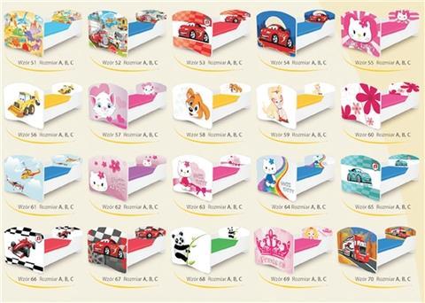 מיטה ילדים Rainbow - Best Bait Design