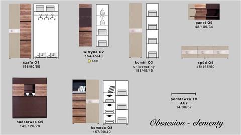 מזנון טלוויזיה Obsession B - Best Bait Design