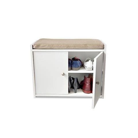 שידת אחסון עם כרית ישיבה Zina - Best Bait Design