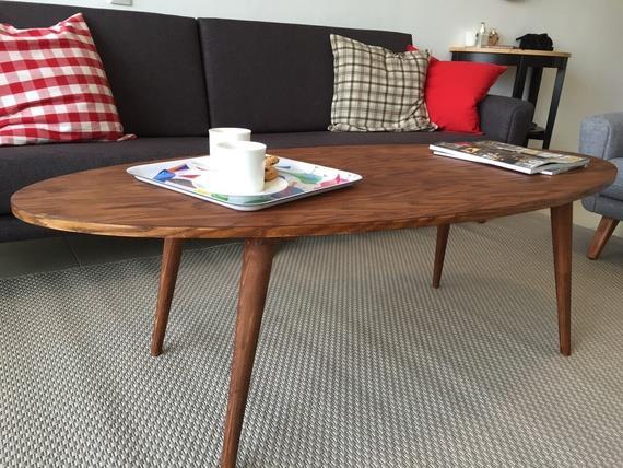 שולחן קפה אליפסה - יניב פשפשים