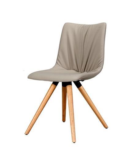 כיסא אוכל ספיידר בז' עץ - Besto