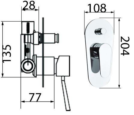 אינטרפוץ 4 דרך פנימי וחיצוני - טאגור סנטר