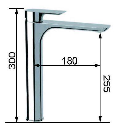 ברז אמבט גבוה I11L  - טאגור סנטר
