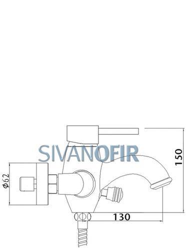 סוללה לאמבטיה 3014 - טאגור סנטר