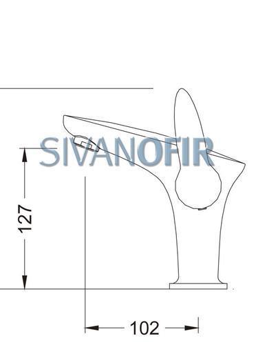 ברז פרח מעוצב 6201 - טאגור סנטר