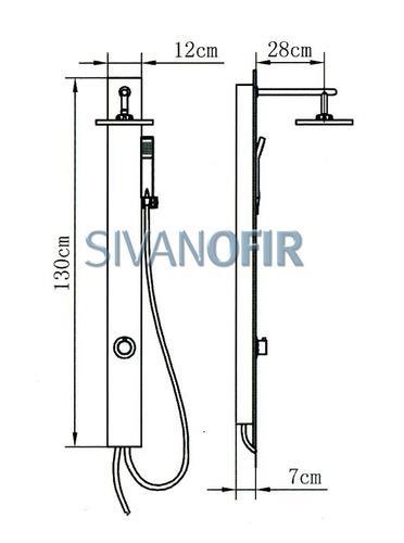 מוט פינוק 2105 S - טאגור סנטר