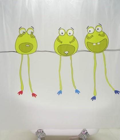 וילון אמבטיה צפרדעים - טאגור סנטר