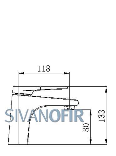ברז פרח דגם 3801 B - טאגור סנטר
