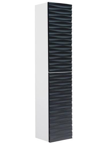 ארון שירות יהלום לבן שחור 8330WB  - טאגור סנטר