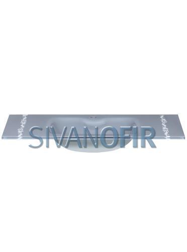 כיור זכוכית אינטגרלי אפור 9611M  - טאגור סנטר