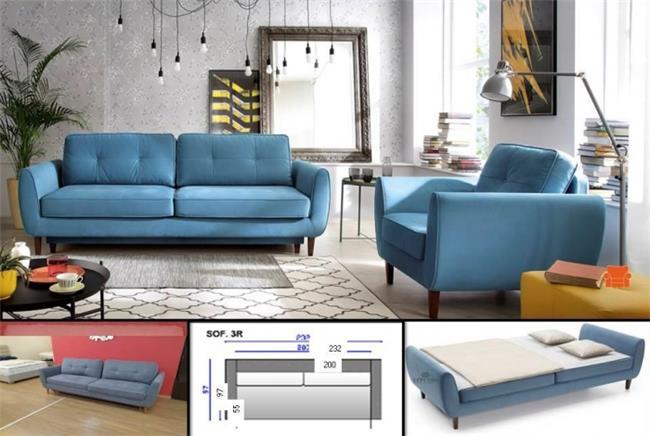 ספה נפתחת OLAND - ספקטרום