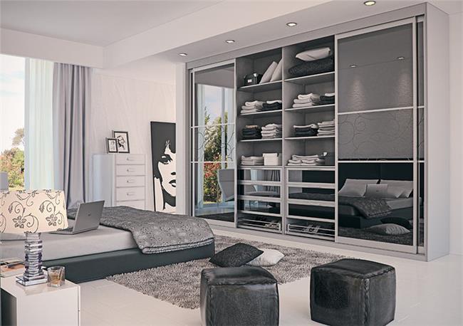 ארון הזזה 4 דלתות - Balas Design