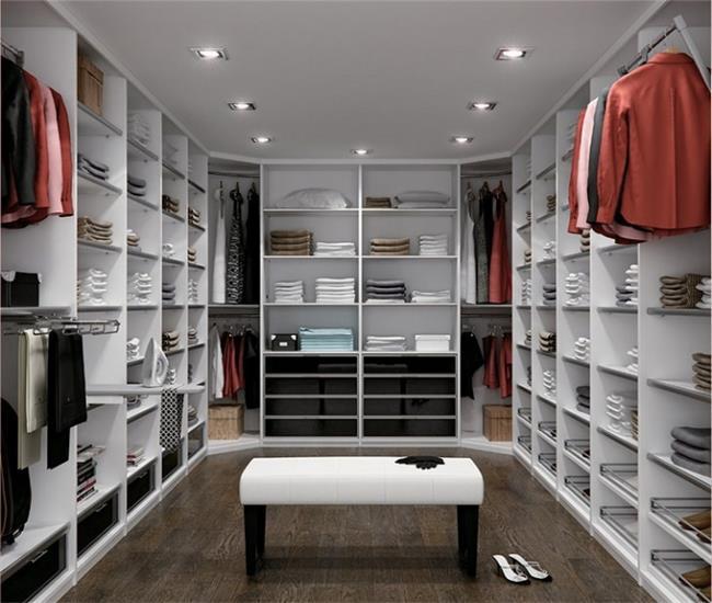 חדר ארונות מעוצב - Balas Design