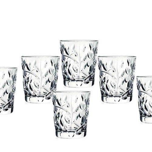 כוסות נמוכות מקריסטל - עידן פרזול ודלתות בע''מ
