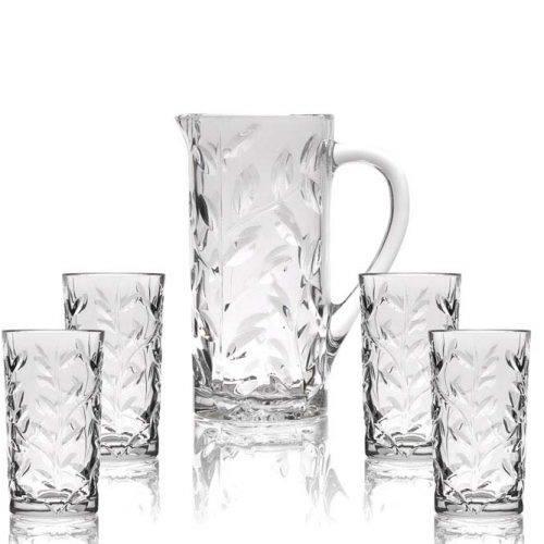 כוסות וקנקן מקריסטל - עידן פרזול ודלתות בע''מ
