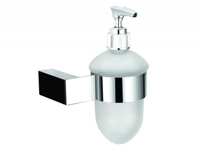 דיספנסר לסבון נוזלי כרום - עידן פרזול ודלתות בע''מ
