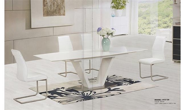 שולחן אוכל דגם V - Green house