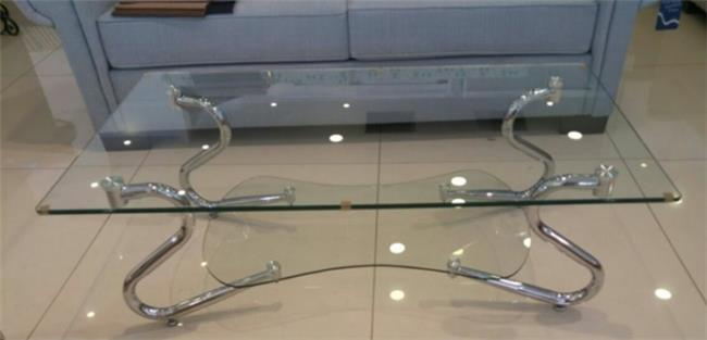 שולחן שקוף ניקלים דגם 183 - Green house