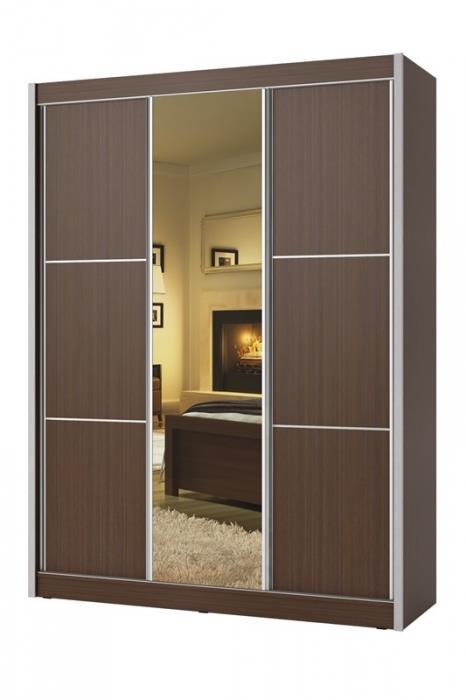 ארון הזזה דגם מרקו 3 דלתות - Green house