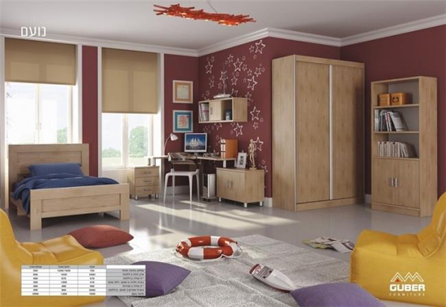 חדר ילדים נועם - Green house
