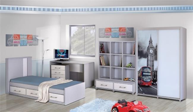 חדר ילדים דגם נועם - Green house
