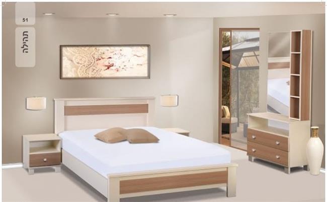 חדר שינה קומפלט תהילה - רהיטי בלושטיין