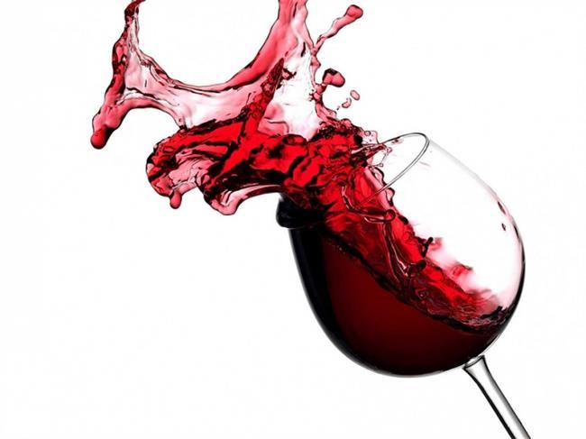 חיפוי זכוכית למטבח כוס יין - ArtGlass