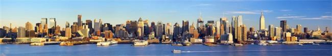 חיפוי זכוכית למטבח ניו יורקי - ArtGlass