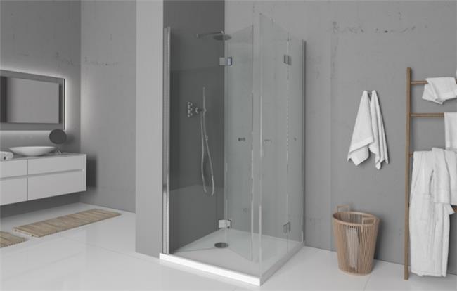 מקלחון פינתי  - ArtGlass