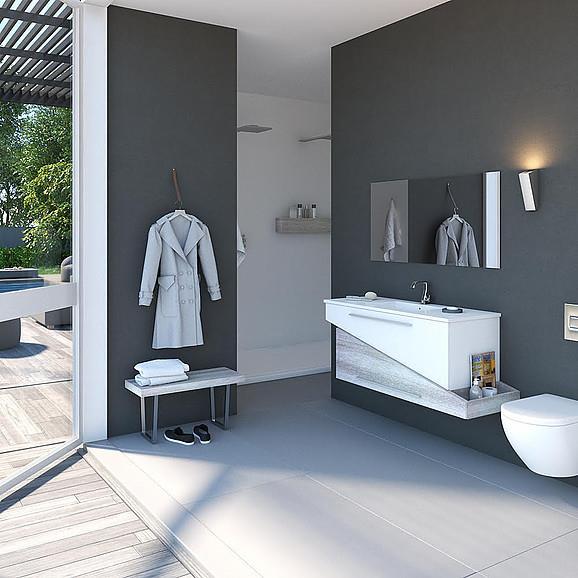 ארון אמבטיה דגם אמסטרדם - מלודי קרמיקה