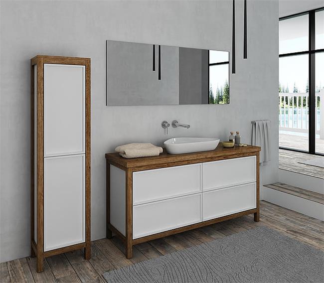 ארון אמבטיה דגם מישיגן - מלודי קרמיקה
