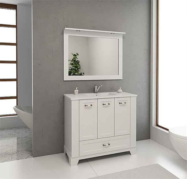 ארון אמבטיה דגם מאליבו - מלודי קרמיקה