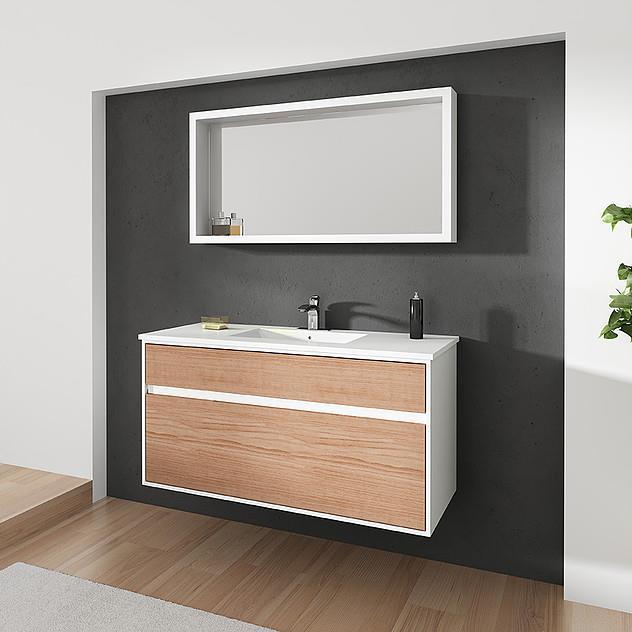 ארון אמבטיה דגם אלון - מלודי קרמיקה