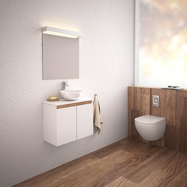 ארון אמבטיה דגם מיני אלדין - מלודי קרמיקה