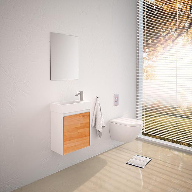 ארון אמבטיה דגם מיני ג'נסיס - מלודי קרמיקה