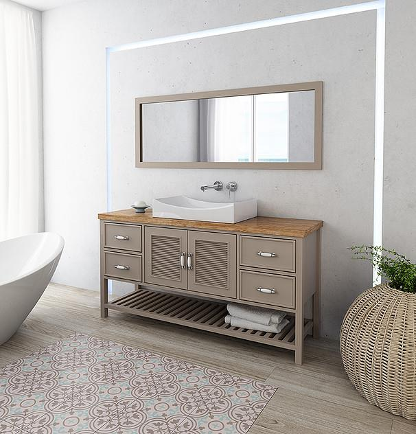 ארון אמבטיה דגם ויקטוריה - מלודי קרמיקה