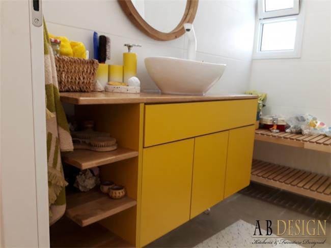 ארון אמבטיה מעוצב  - A.B DESIGN
