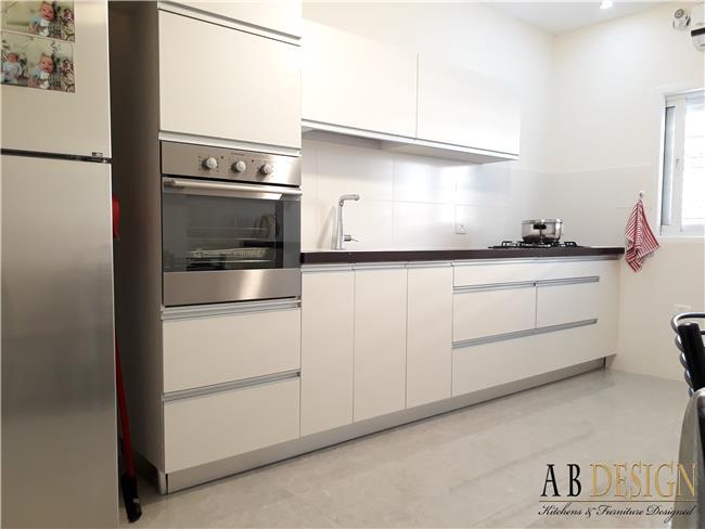 מטבח פורמייקה מודרני   - A.B DESIGN